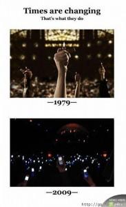 koncerty kiedyś i dzisiaj