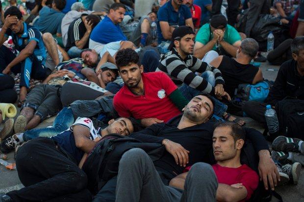 fala uchodźców