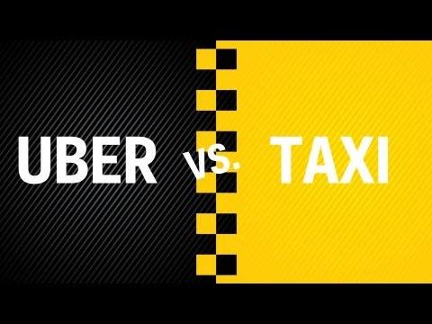 taxi przeciwko uber