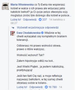 ewa chodakowska i feministka